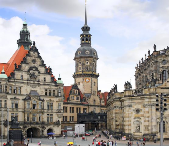Old Town, Dresden, Germany.
