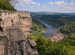 экскурсии в Саксонскую Швейцарию. Бастай и Кёнигштайн.